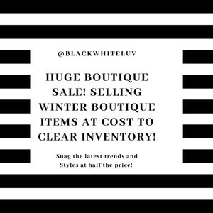 Other - All winter boutique items are reduced to my cost